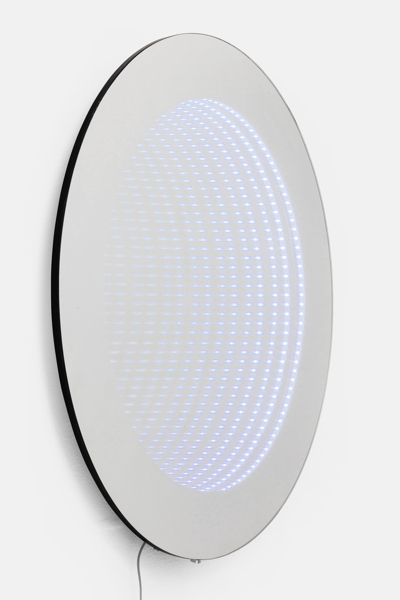 Kare LED COLORE Infinity Wall Round Mirror