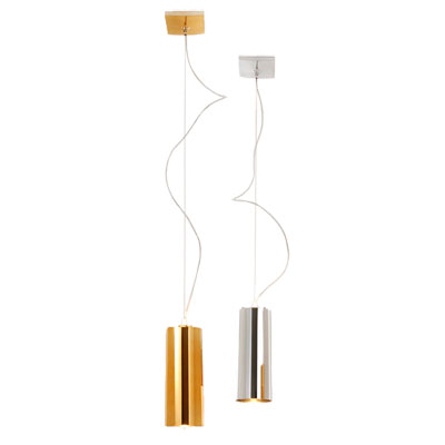 Kartell Easy Pendant Light Metallic
