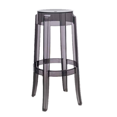 Kartell Charles Ghost Large Stool