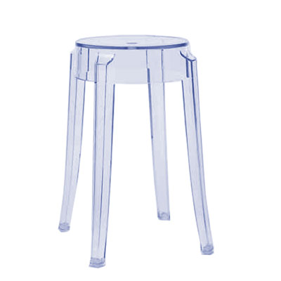 Kartell Charles Ghost Small Stool