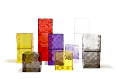 Kartell Optic Container Cube