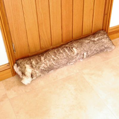 Katrina Hampton Faux Fur Draught Excluder