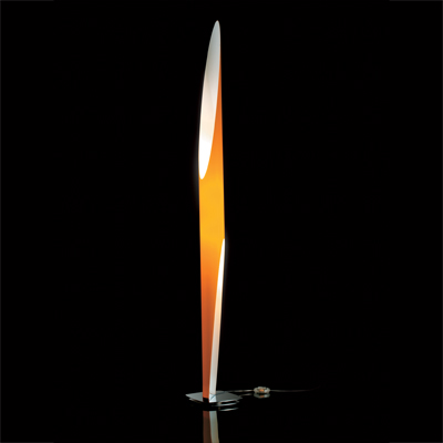 Kundalini Shakti Floor Light Orange