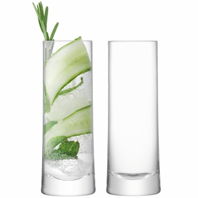 LSA Gin Highball Glass Set