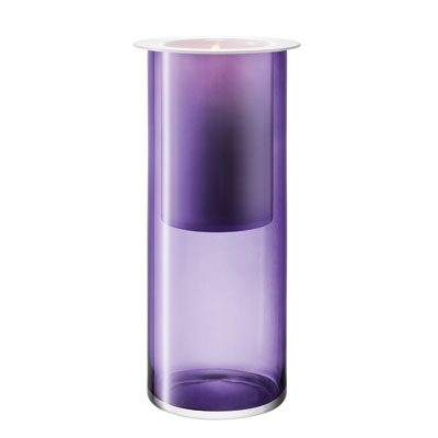 LSA Tondo Candle Holder Violet