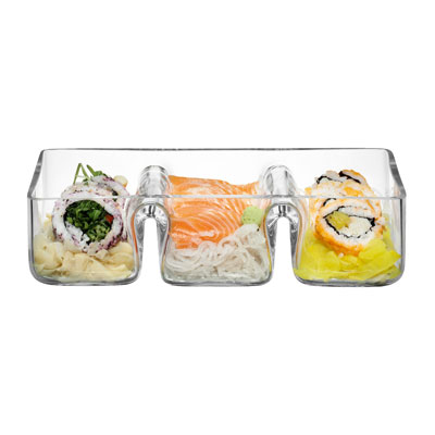 LSA Serve Trio Platter