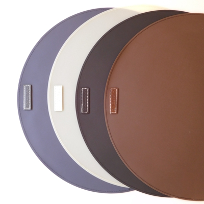 Large Round Rubber Place Mats