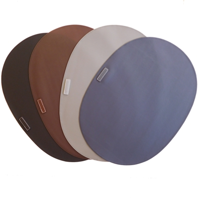 Large Oval Rubber Place Mats