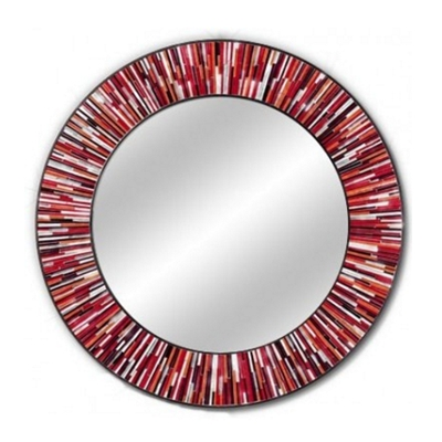 Piaggi Roulette Mirror Red
