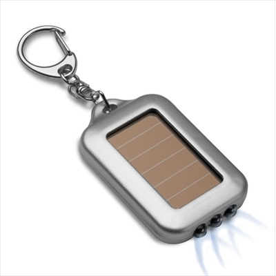Reflects Eckerty Solar LED Keyring