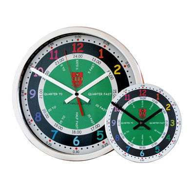 Roco Verre Time Teaching School Clock