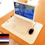 Extra Large Luxury Leather Desk Mat Laptop Pad