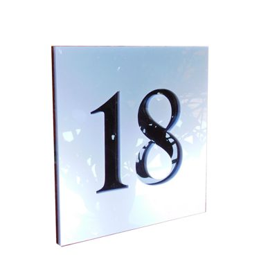 Personalised Modern Door and House Number Signs