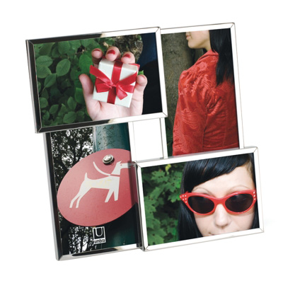 Umbra Flo Four Picture Photo Frame