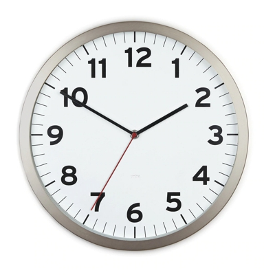 Umbra Anytime Wall Clock White