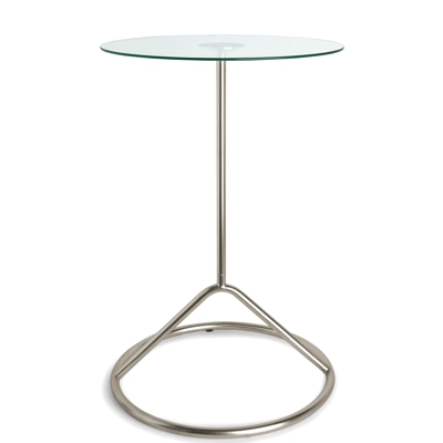 Umbra Loop Side Table Nickel