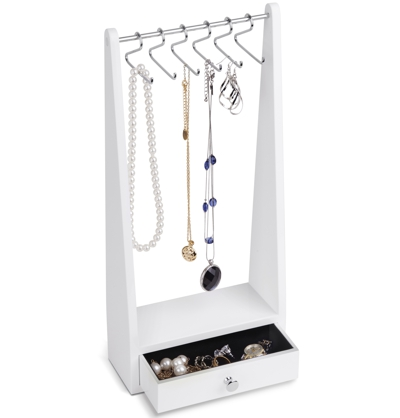 Umbra Jewel Rack Jewellery Stand White
