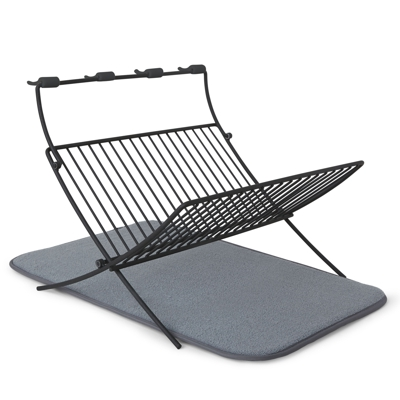 Umbra XDry Folding Dish Rack and Drying Mat