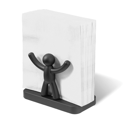 Umbra Buddy Napkin Holder Black
