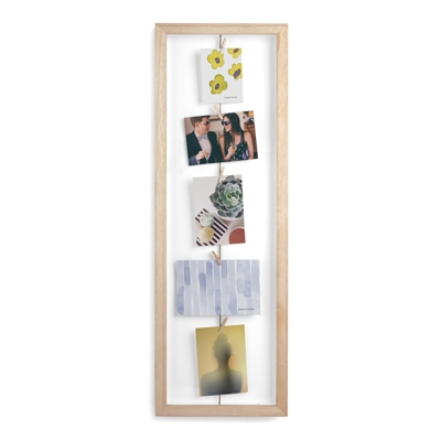 Umbra Clothesline Flip Photo Display Natural