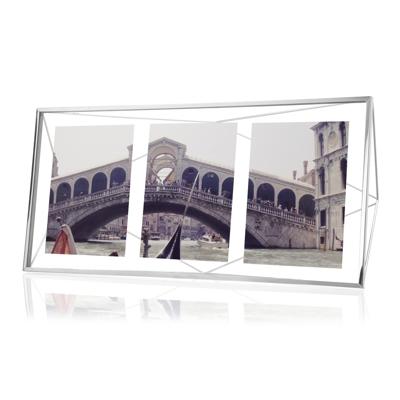 Umbra Prisma Multi Photo Frame Chrome