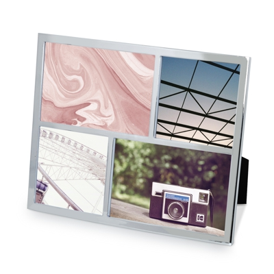 Umbra Senza Multi Photo Frame Chrome