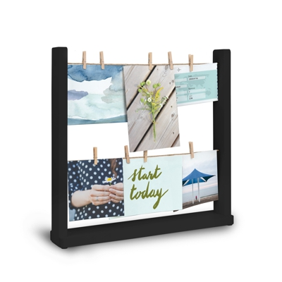 Umbra Hangit Desk Photo Display Black