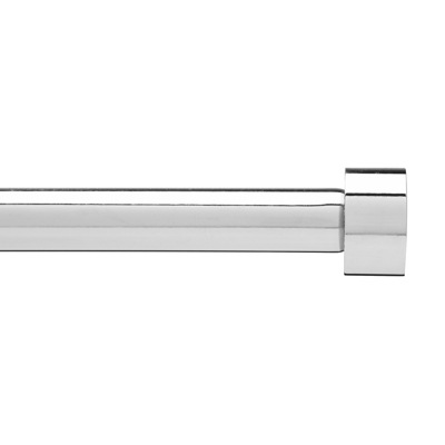 Umbra Cappa Curtain Pole Chrome