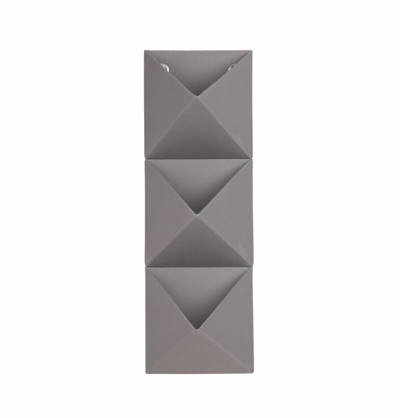 Umbra Trifold Wall Storage Grey