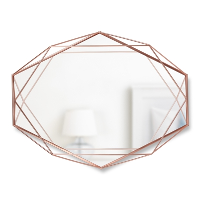 Umbra Prisma Wall Mirror Copper