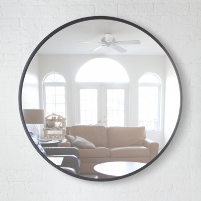 Umbra Hub Mirror 61cm Black
