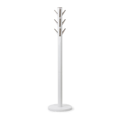 Umbra Flapper Coat and Hat Stand White