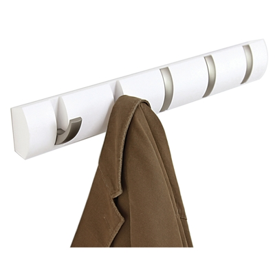 Umbra Flip Coat Hook White