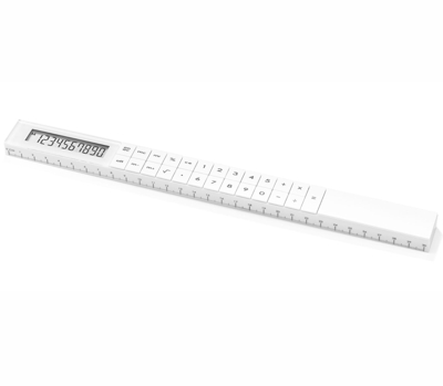Addex Ruler Calculator White