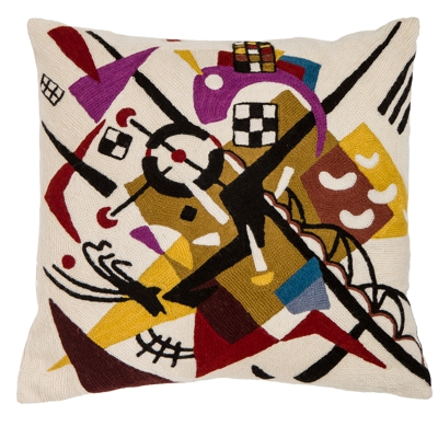 Kandinsky Rails Cushion 20""