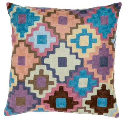 Zaida Crochet Design Cushion 18""
