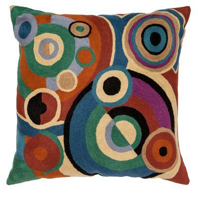 Zaida Delaunay R Paris Cushion 20""