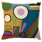 Zaida Kandinsky Abstract World Cushion 18""