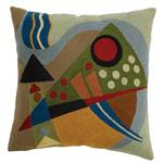 Zaida Kandinsky Deep Abstraction Cushion 18