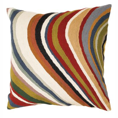 Zaida Multi Colour Curve Cushion 18""