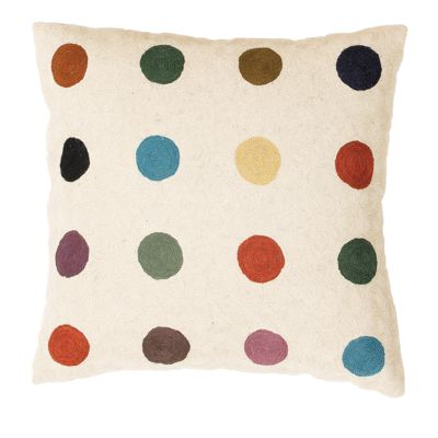 Zaida Multi Colour Spot Cushion 18""