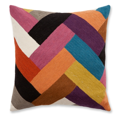 Zaida Parquet Cushion 18""