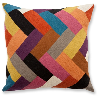 Zaida Parquet Cushion 24""