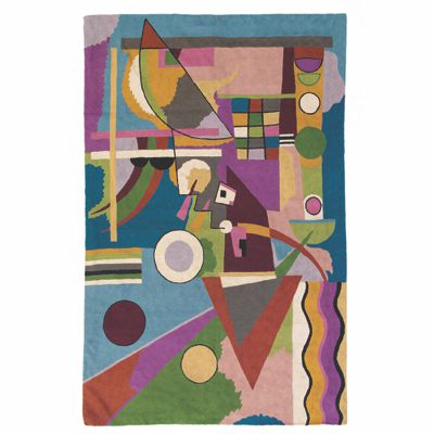Zaida Kandinsky Abstract World Rug