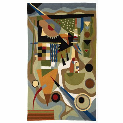 Zaida Kandinsky Abstraction Rug