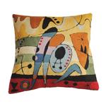 Zaida Kandinsky Red Carnival Cushion 18""