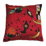 Zaida Miro Kite Flying Red Cushion 18""