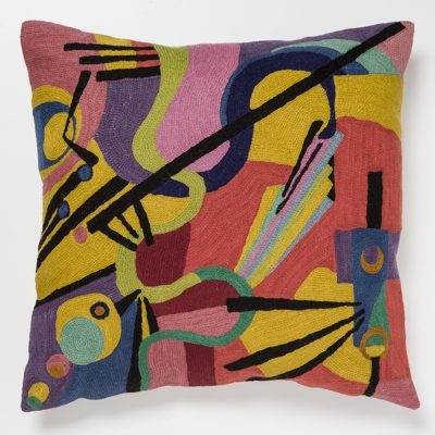 Zaida Kandinsky Inspiration Cushion 20""
