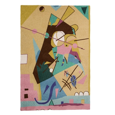 Zaida Kandinsky Abstract Time Rug