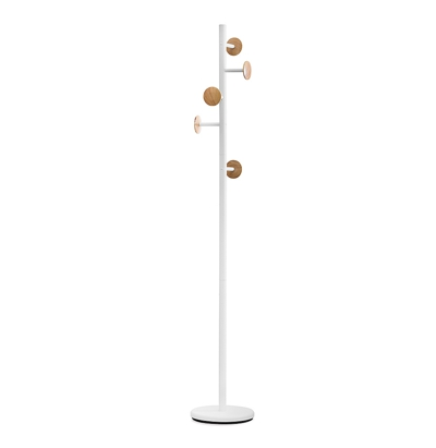 Balvi Coat Rack White 174.5 x 28.5 x 28.5 cm